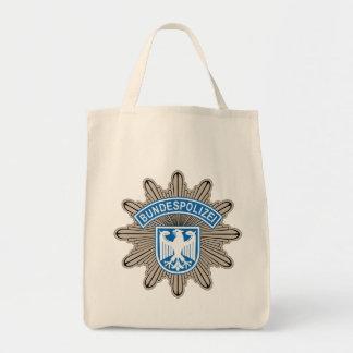Bundespolizeistern Badge Tote Bag