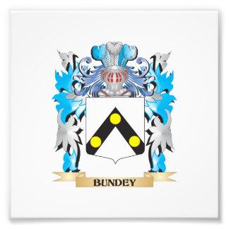 Bundey Coat of Arms Photo Art