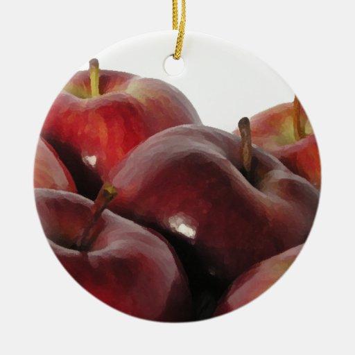 Bundle of Apples Christmas Ornaments