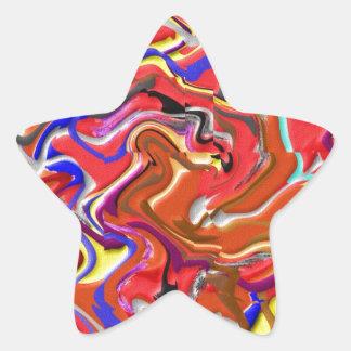 Bundle of Joy : Artistic Happy Artwork Star Sticker