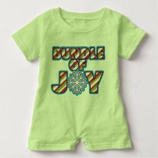 Bundle of Joy Striped Christmas T-shirts