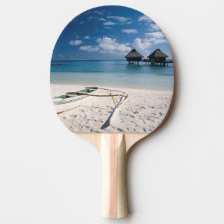 Bungalows from beach Motu Toopua Ping Pong Paddle