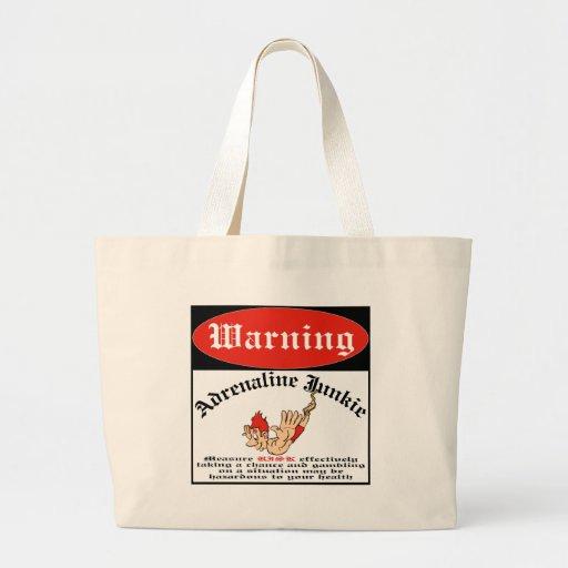 Bungee Jumper Adrenaline Junkie Bags