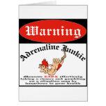 Bungee Jumper Adrenaline Junkie Cards