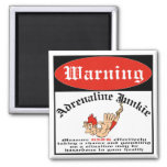 Bungee Jumper Adrenaline Junkie Refrigerator Magnets