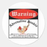 Bungee Jumper Adrenaline Junkie Stickers
