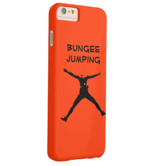 Bungee jumping barely there iPhone 6 plus case