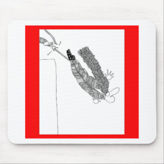 bungee jumping mousepad