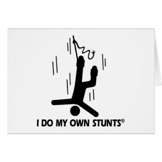 Bungee Jumping My Own Stunts Cards