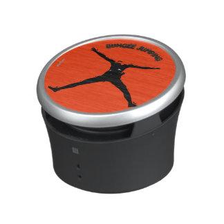 Bungee jumping speaker