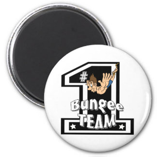 Bungee Team 6 Cm Round Magnet