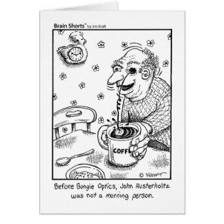 Bungie Optics by Jim Kraft Greeting Card