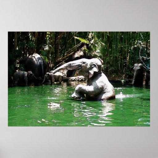 Bungle in the Jungle 36 x 24 Poster