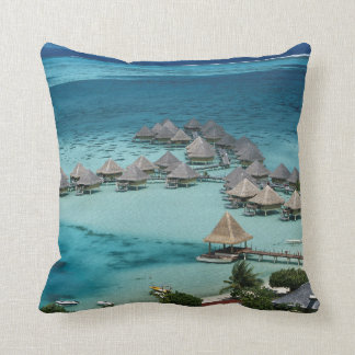 Bunglows of Beachcomber Hotel Cushion