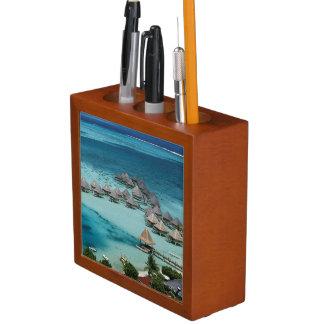 Bunglows of Beachcomber Hotel Desk Organiser