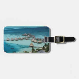 Bunglows of Beachcomber Hotel Luggage Tag