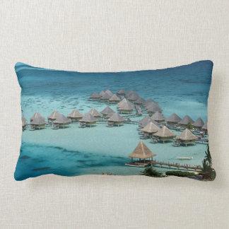 Bunglows of Beachcomber Hotel Lumbar Cushion