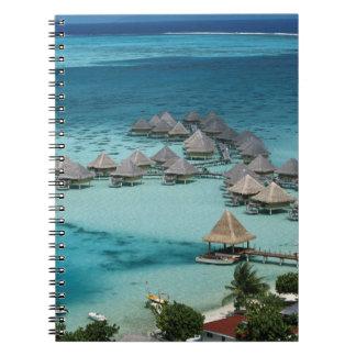 Bunglows of Beachcomber Hotel Notebooks
