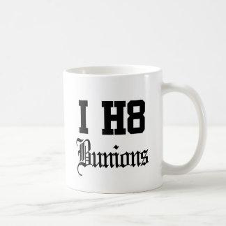 bunions basic white mug