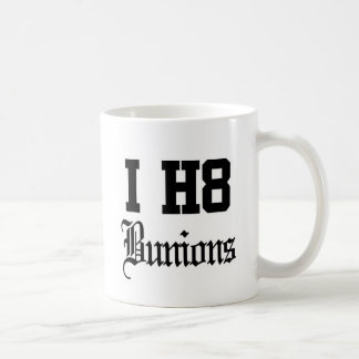 bunions coffee mug