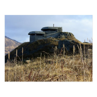 Bunker Hill, Dutch Harbor, Alaska Postcard