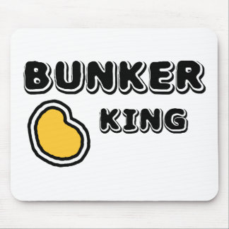 Bunker King Mouse Pad