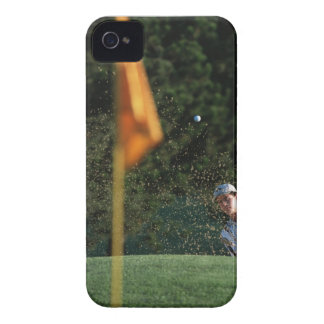 Bunker shot (Golf) iPhone 4 Case