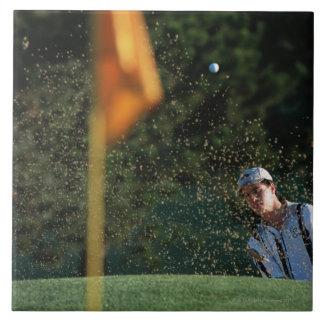 Bunker shot (Golf) Tile