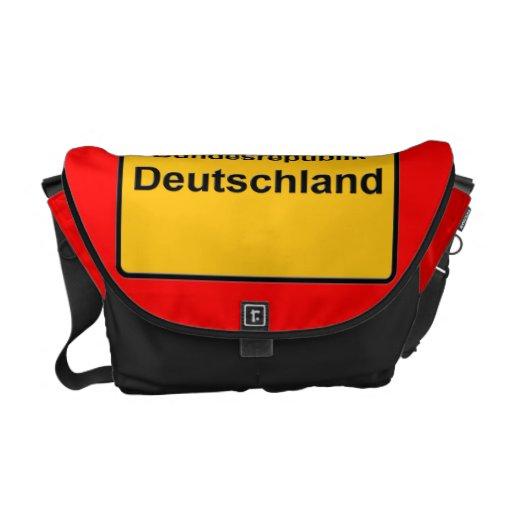 Bunndesrepublik Deutschland Commuter Bag