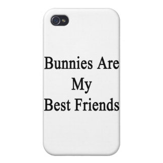 Bunnies Are My Best Friends iPhone 4 Covers