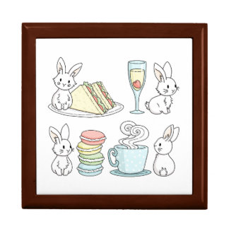 Bunnies at Afternoon Tea Gift Box