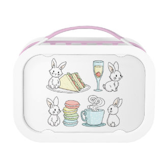 Bunnies at Afternoon Tea Lunch Box
