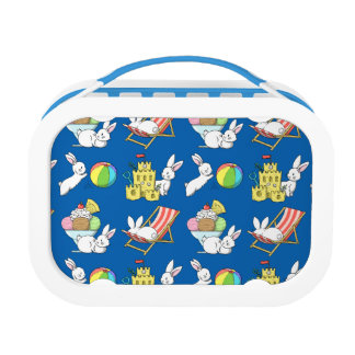 Bunnies at the Beach Lunch Boxes