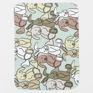 Bunnies baby blanket