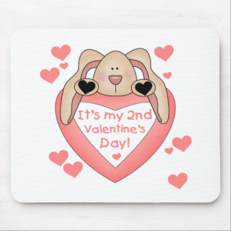 Bunny 2nd Valentine's Day Mouse Pad