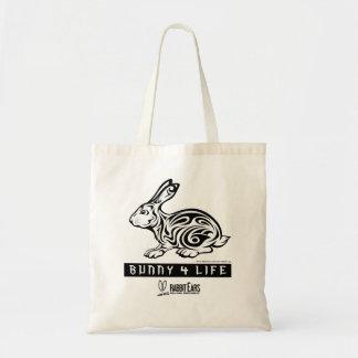 Bunny 4 Life Tote Budget Tote Bag