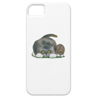Bunny and Kitten are Best Friends iPhone 5 Cover