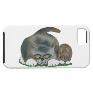 Bunny and Kitten are Best Friends iPhone 5 Case