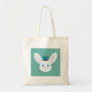 Bunny and Tea Tote Bag