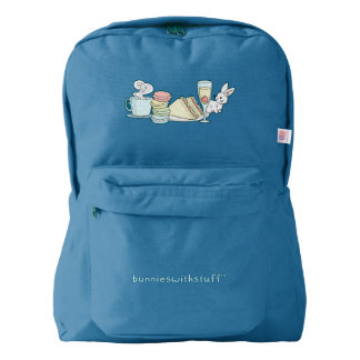 Bunny at Afternoon Tea Backpack