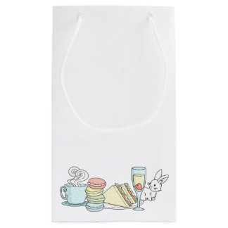 Bunny at Afternoon Tea Small Gift Bag