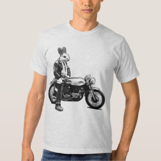 Bunny biker t-shirts