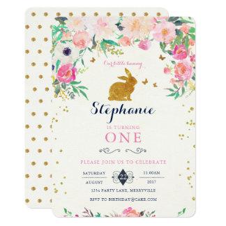 Rabbit Birthday Invitations Choice Image Invitation Templates Free