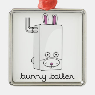 Bunny Boiler Christmas Ornament