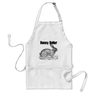 Bunny Boiler Funny Foodie Apron