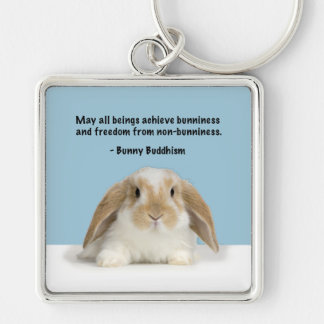 Bunny Buddhism Lop Bunny Keychain