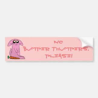 Bunny Bumper Stickers