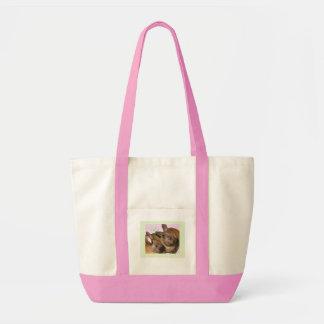 Bunny Bunnies Two Bunnies Tote Bags