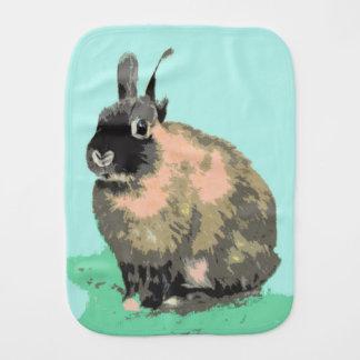 Bunny Burp Cloth Shower Nursery