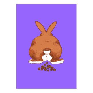Bunny Butt Business Card Template